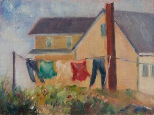 """Summer Breeze"" original fine art by Debbie Lamey-Macdonald"