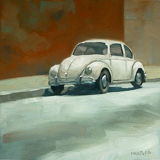 """Punch Buggy"" original fine art by Michael Naples"