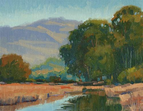 """Pacheco reflections"" original fine art by J. Thomas soltesz"