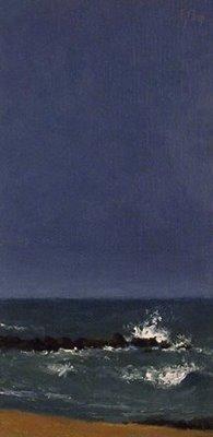 """Seascape No. 3"" original fine art by Abbey Ryan"