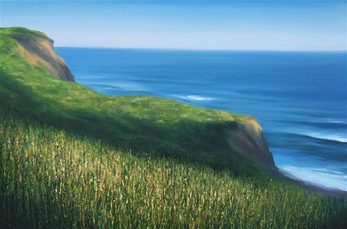 """Up from Black Rock"" original fine art by Whitney Knapp Bowditch"
