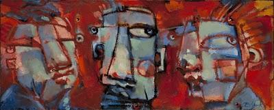 """Middle Child"" original fine art by Brenda York"