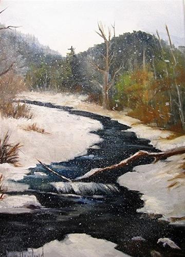 """Hermosa Creek"" original fine art by Barbara Haviland"