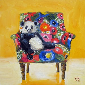 """pandering"" original fine art by Kimberly Applegate"