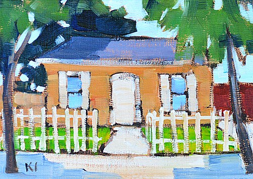 """Home Sweet Home"" original fine art by Kevin Inman"