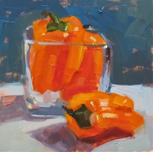 """""""30 Paintings in 30 Days. Day 22"""" original fine art by Katia Kyte"""