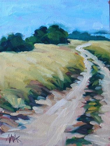"""Windidng Road"" original fine art by Mary Anne Cary"