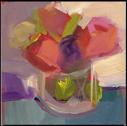 """""""2487 3"""" original fine art by Lisa Daria"""