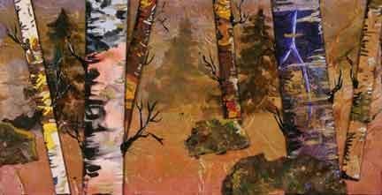 """Fairy Forest"" original fine art by Kara Butler English"