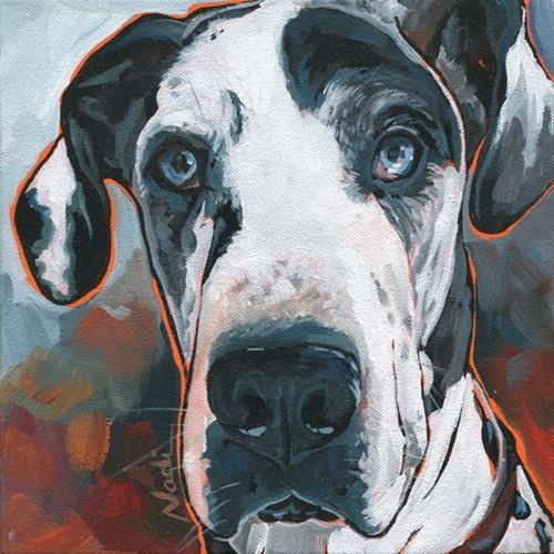"""""""Diesel"""" original fine art by Nadi Spencer"""