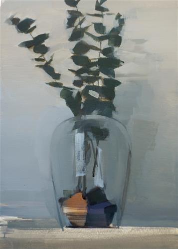"""Dusk Arrangement (no.141)"" original fine art by Michael William"