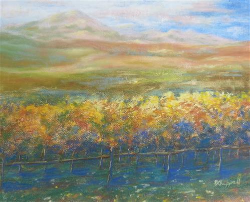 """""""Cuvaison"""" original fine art by Becky Chappell"""