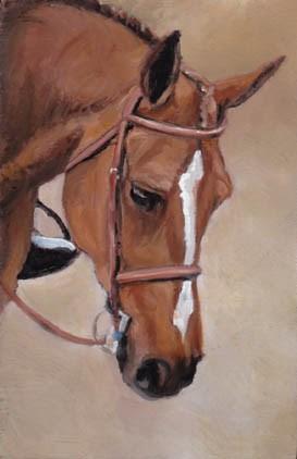 """Roxy"" original fine art by Charlotte Yealey"