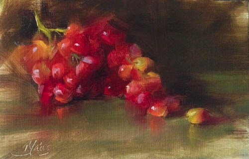 """""""Summer Reds"""" original fine art by Pamela Blaies"""