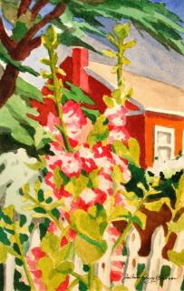 """Gizdith Ranch House"" original fine art by JoAnne Perez Robinson"