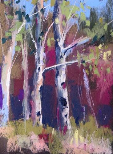 """""""Aspens to Hoodoos....Exploring Scenic Hwy 12"""" original fine art by Karen Margulis"""