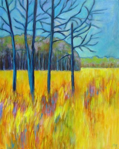 """Spring Field"" original fine art by Patricia MacDonald"