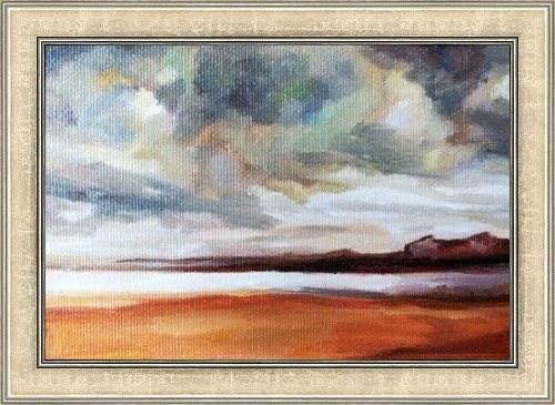"""Stormy Skies"" original fine art by Nava Judith"