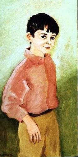 """Matthew"" original fine art by Marie Lynch"