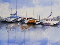 """Reflections"" original fine art by Maggie Flatley"