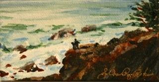 """Point Lobos"" original fine art by JoAnne Perez Robinson"