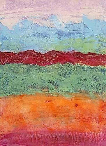 """Sahara Nightfall"" original fine art by Mechele Flowers"