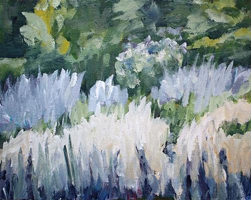 """Lavender"" original fine art by J. Farnsworth"