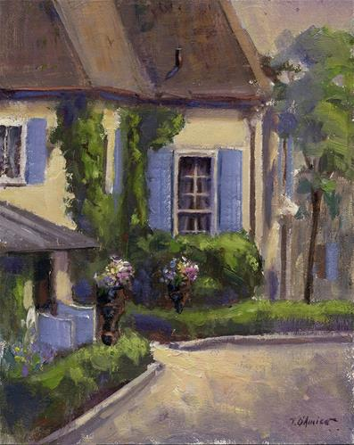 """French Country"" original fine art by tony damico"