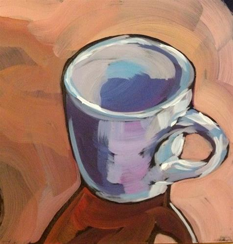 """Espresso One"" original fine art by Kat Corrigan"