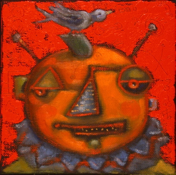 """Punkin' Head"" original fine art by Brenda York"