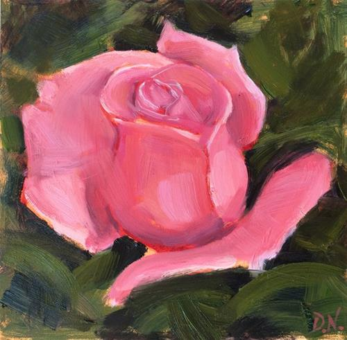 """A Rose is a Rose is a Rose ..."" original fine art by Deborah Newman"