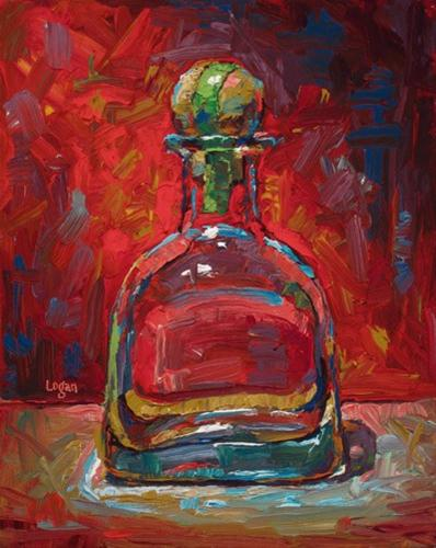"""Who Drank All the Patrón?"" original fine art by Raymond Logan"