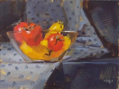 """Chillin'"" original fine art by Carol Marine"