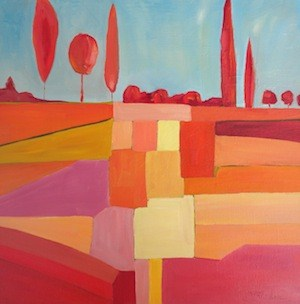 """Optimism"" original fine art by Janet Bludau"