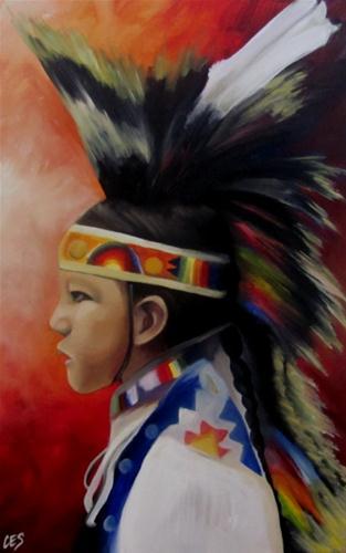 """""""Young Dancer"""" original fine art by ~ces~ Christine E. S. Code"""