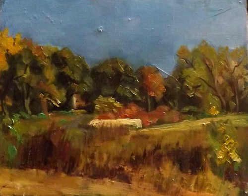 """Landscape,N26"" original fine art by Run-      Zhang Zane"