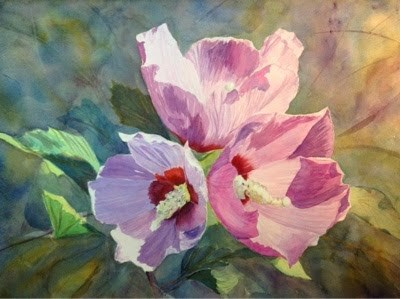"""#9/30 in 30 - Althea (2)"" original fine art by Lyn Gill"