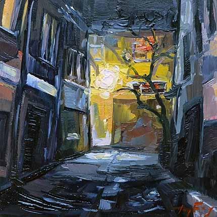 """""""Straßenlicht"""" original fine art by Jurij Frey"""