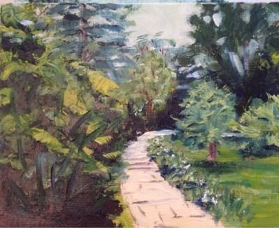 """""""Landscape 3"""" original fine art by Debra Kennedy"""