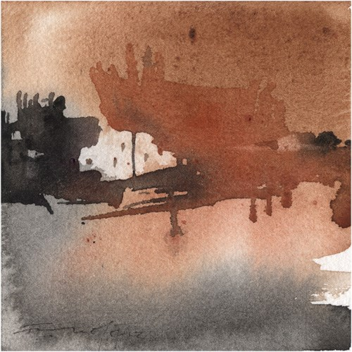 """paisaje 91"" original fine art by Emilio López"