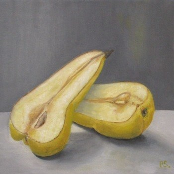 """Ceres Pears III"" original fine art by Pera Schillings"