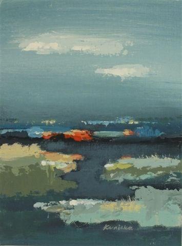 """Landscape 33"" original fine art by Ewa Kunicka"