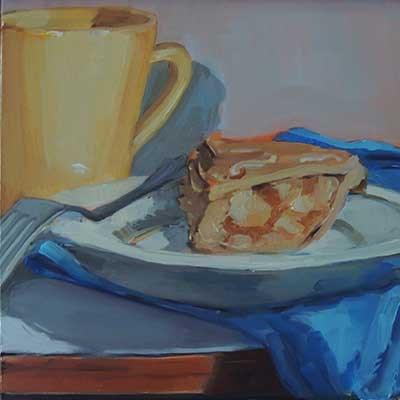 """Apple Pie Monday"" original fine art by Merle Manwaring"