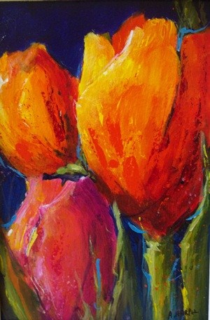 """A Sign of Spring"" original fine art by Alice Harpel"