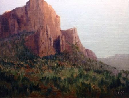 """""""Southwest Colorado Landscape"""" original fine art by James West"""