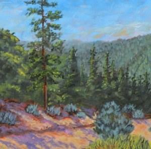"""Taos Road"" original fine art by Robert Frankis"