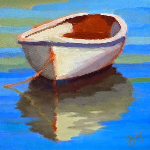 """""""Churchy"""" original fine art by Bobbi Heath"""