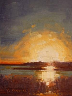 """A New Day"" original fine art by Laurel Daniel"