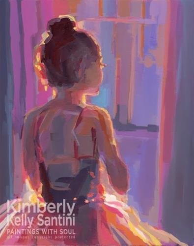 """Dance Dance Dance"" original fine art by Kimberly Santini"