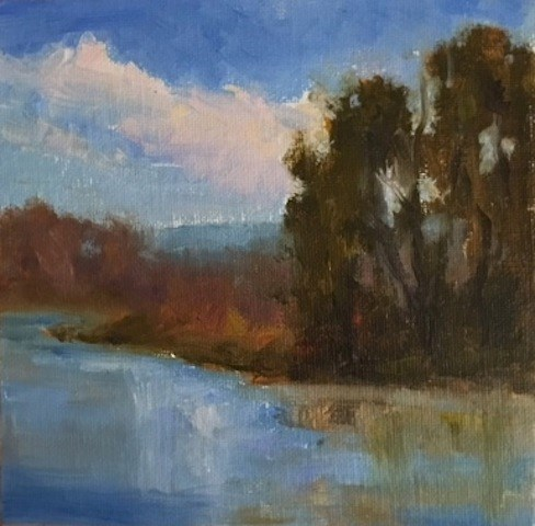 """Marshall Island Landing"" original fine art by Victoria  Biedron"